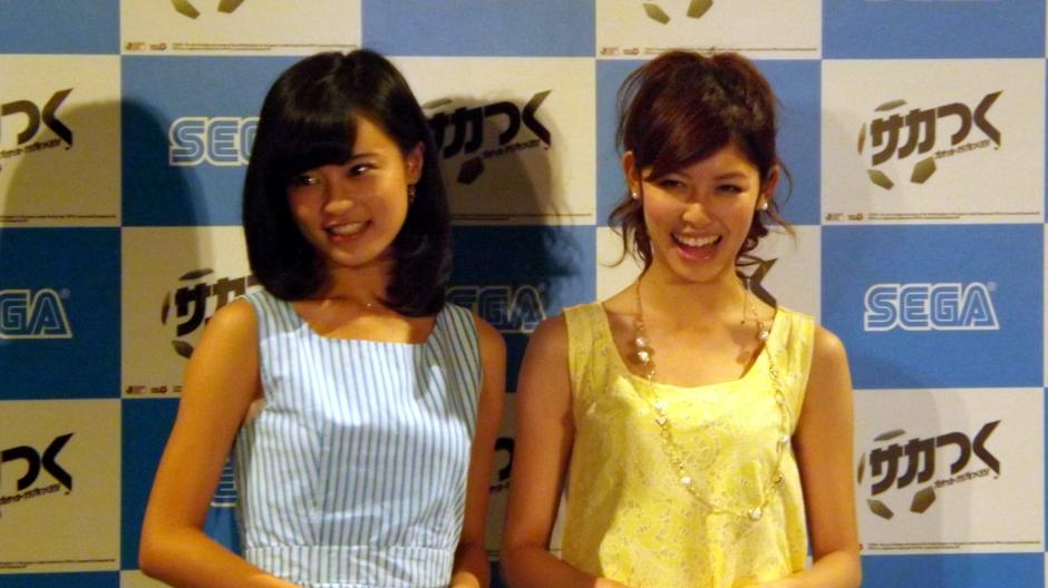 小島瑠璃子さん(左)と橘ゆりかさん